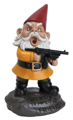 The Roamin' Gnomials Naming Trophy was rejected by the winner, an Irish ex-pat, who gave it to her husband, who displayed it in his office. Unfortunately for her, word got around, and now the gnomes are seeking revenge.