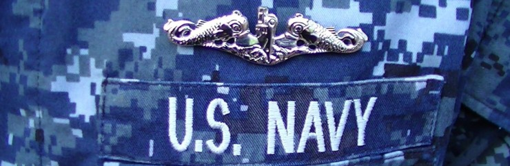 As a U.S. Navy submariner, my son wears the silver dolphins on his chest.