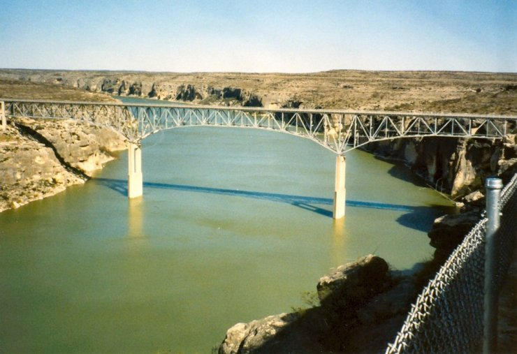 My memories make the Pecos River Bridge more glorious than it really is, but I still consider it the gateway to the Old West.