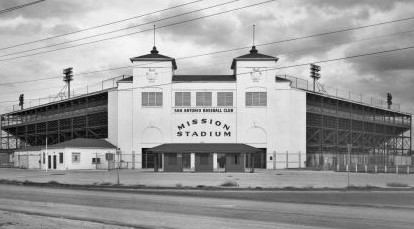 The old Mission Stadium in San Antonio was torn down years ago, but it's where I saw my first baseball game.