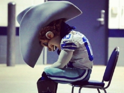 I don't think it's going to be long before Rowdy is hanging his head again in Dallas.