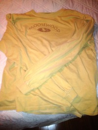 My Moosewood Restaurant t-shirt is intentionally big enough to fit a moose inside.