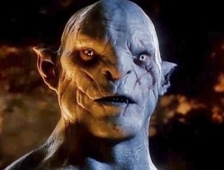 Peter Jackson needed a villain, and Azog the white orc is a convincing one. The character is even supported in some of Tolkien's backup material, so I can sorta forgive his inclusion in the movie.