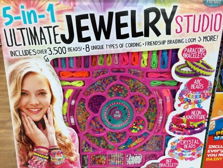"""You'll look so glamorous after you deck yourself out in this cheap plastic crap … er, jewelry!"""