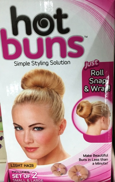 """You'll be making a real fashion statement with your Hot Buns!"""