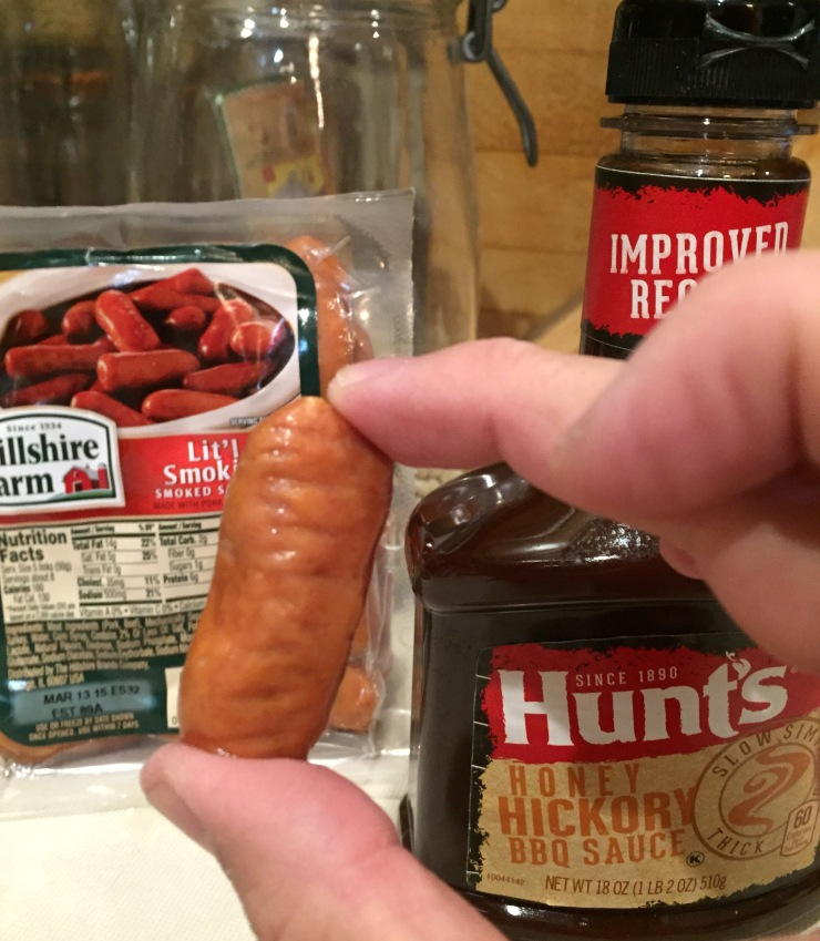 Cocktail weenies -- also known as Goodells in honor of NFL Commissioner Roger Goodell -- are simple, tasty and trashy treat.