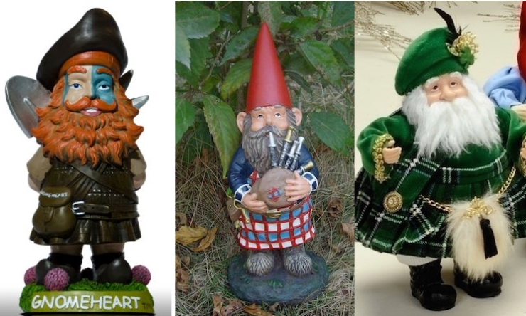 You think you've got a gnome problem? You haven't seen anything until you've seen what they have to deal with in Scotland. And now a Scottish Gnome Hit Squad has been sent to the United States, and at least one of them was pregnant!
