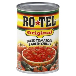 My New Jersey grocer has decided the Rotel should go on the International Foods aisle. Now I think that's funny!