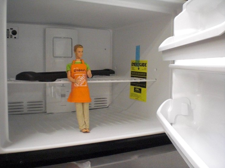 She's putting me on ice. I'm going to wind up dismembered in a freezer, I just know it!