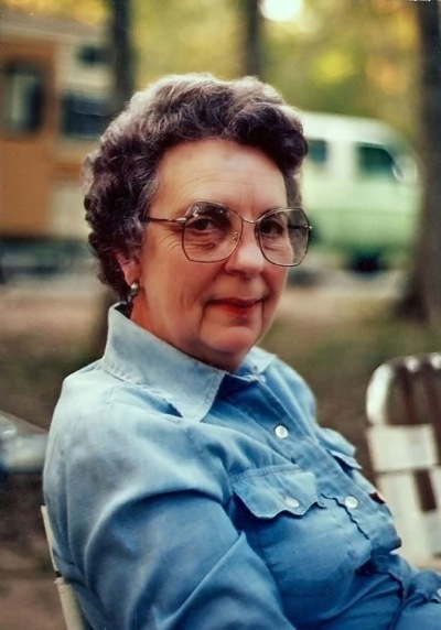 Betty in 1987, long before the cancer struck.