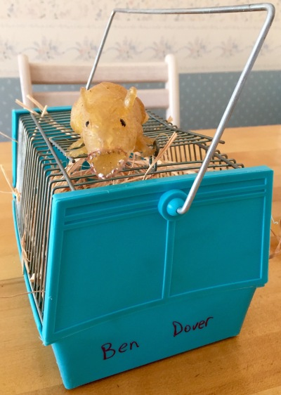 Ben Dover, our rubber rat, was our Universal Desk mascot at The Houston Post. He now lives in my laundry room in New Jersey, and he's still pissed off.