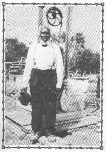 Tom Sullivan was 16 when he was sold to one of my ancestors. Here he is, featured in a newspaper article about his life.