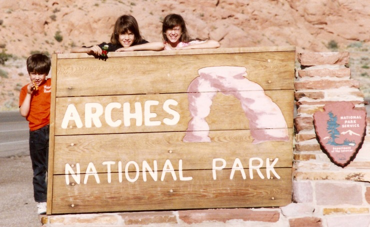 That's my two daughters holding Mutt during a visit to Utah when they were still little girls.