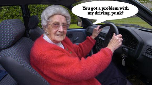 granny-driving