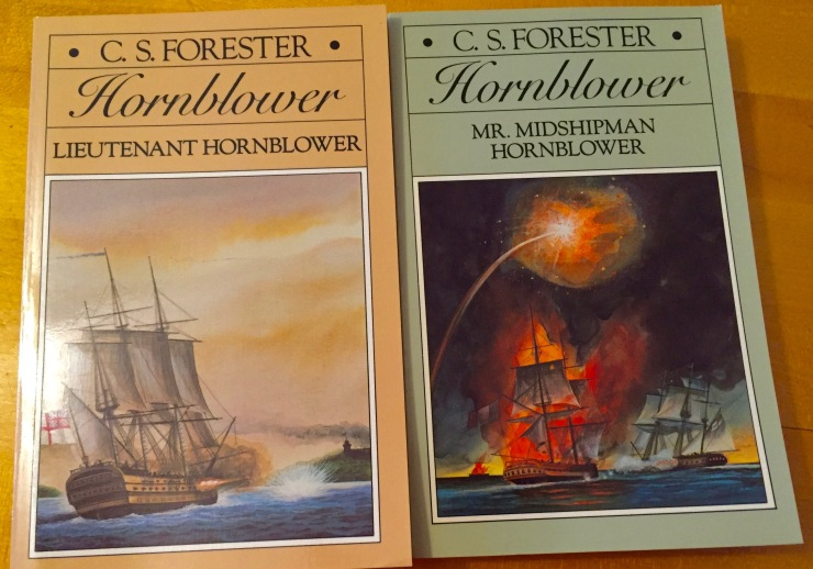 Long before Patrick O'Brien made the Aubrey-Maturin novels a thing, C.S. Forester wrote a series of excellent books. Few people think about Horatio Hornblower anymore.