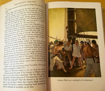 Most people have heard of Captain Bligh and the Mutiny on the Bounty, but the Bounty Trilogy by Charles Nordhoff and James Norman Hall -- copyright 1932 -- probably isn't on anyone's mind these days.