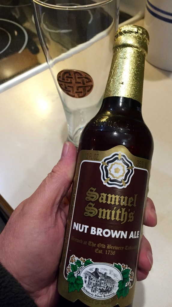 Samuel Smith's Nut Brown Ale is, in my opinion, one of the finest beers in the world. But there's a problem, a BIG problem!