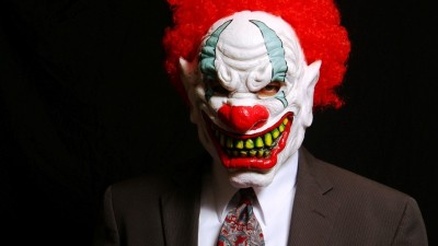 At least 50 percent of my bosses were bad clowns. Couldn't write about 'em.