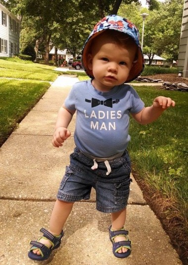 Say what you want, the kid's got style!