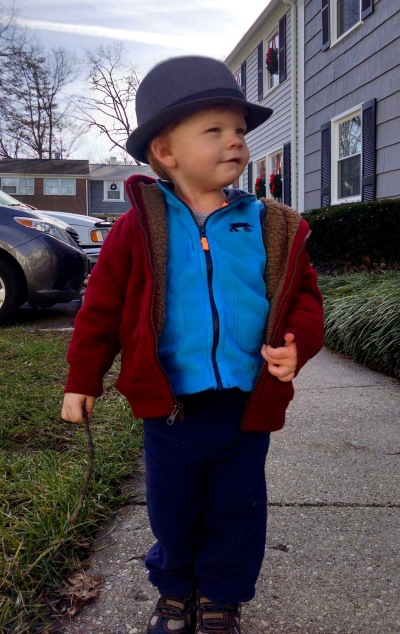 That's my grandson, Caleb.