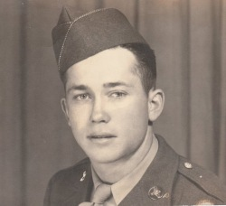 Young William Otis. You're in the Army now!