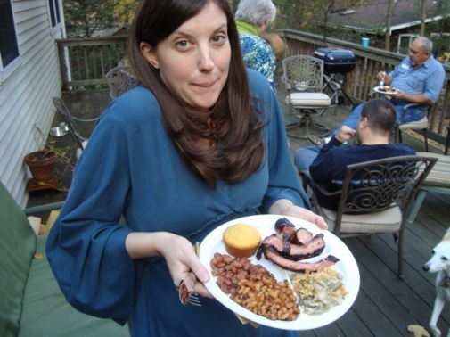 Rebekah might like her husband's signature rack of ribs, but she's always adored her daddy's smoked brisket, Texas-style!