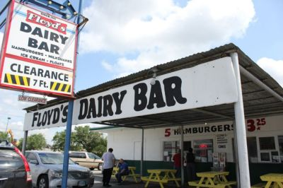 Floyd's Dairy Bar on Goliad Road was a happening place in the '60s and '70s when I was growing up. I wonder if it's still there.