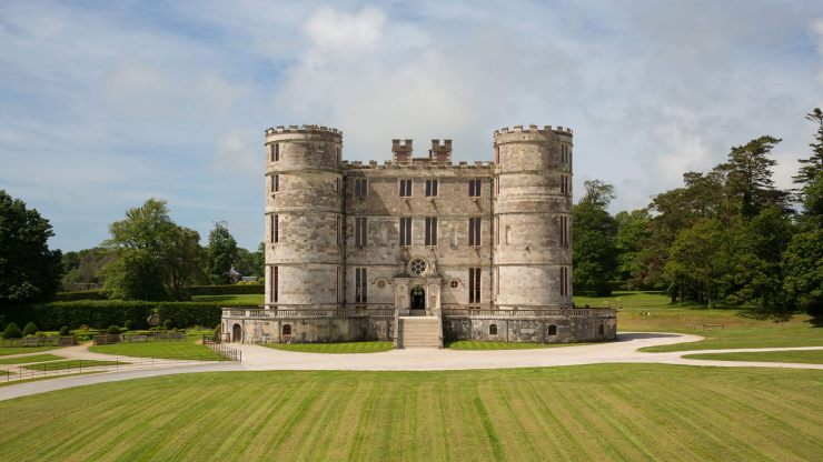 Lulworth Castle in Dorset, England. Could this be my ancestral home? Might I still have a claim?