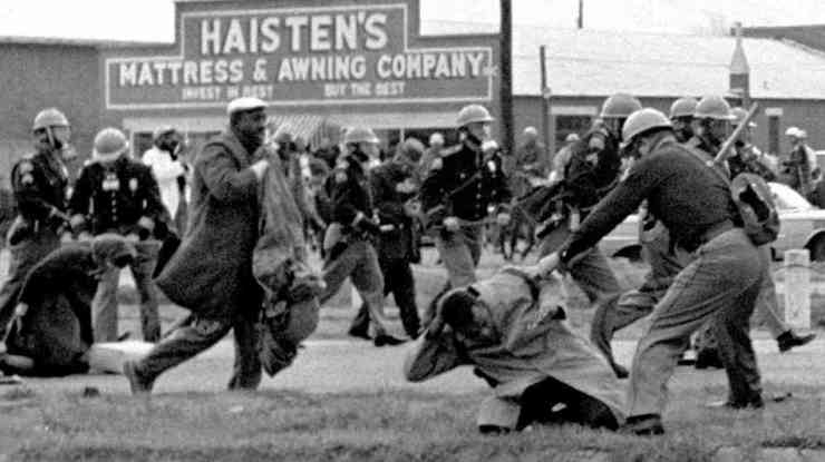 Tell the Selma, Ala., freedom marchers about how you won't vote because it's against your principles. Go ahead, I'll wait.
