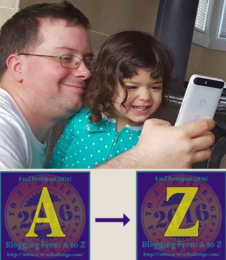 The Letter A, Aaron, with the Letter Z, Zoe. Is it the end, or a new beginning for my family?