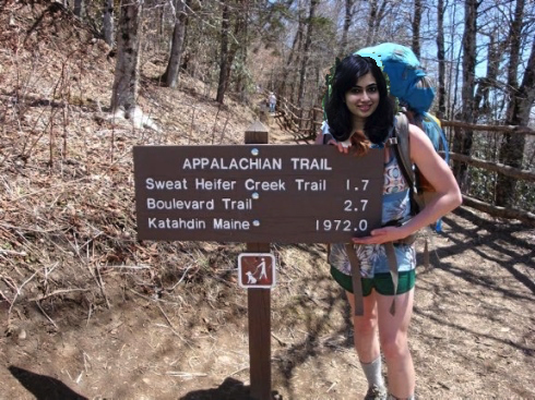 If Ms. Sassy could hike the Appalachian Trail, she might get tired before completing all 2,000 miles!